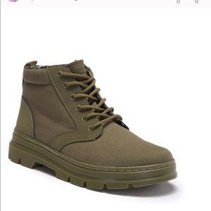 Dr. Martens Bonny II olive green mid rise boots
